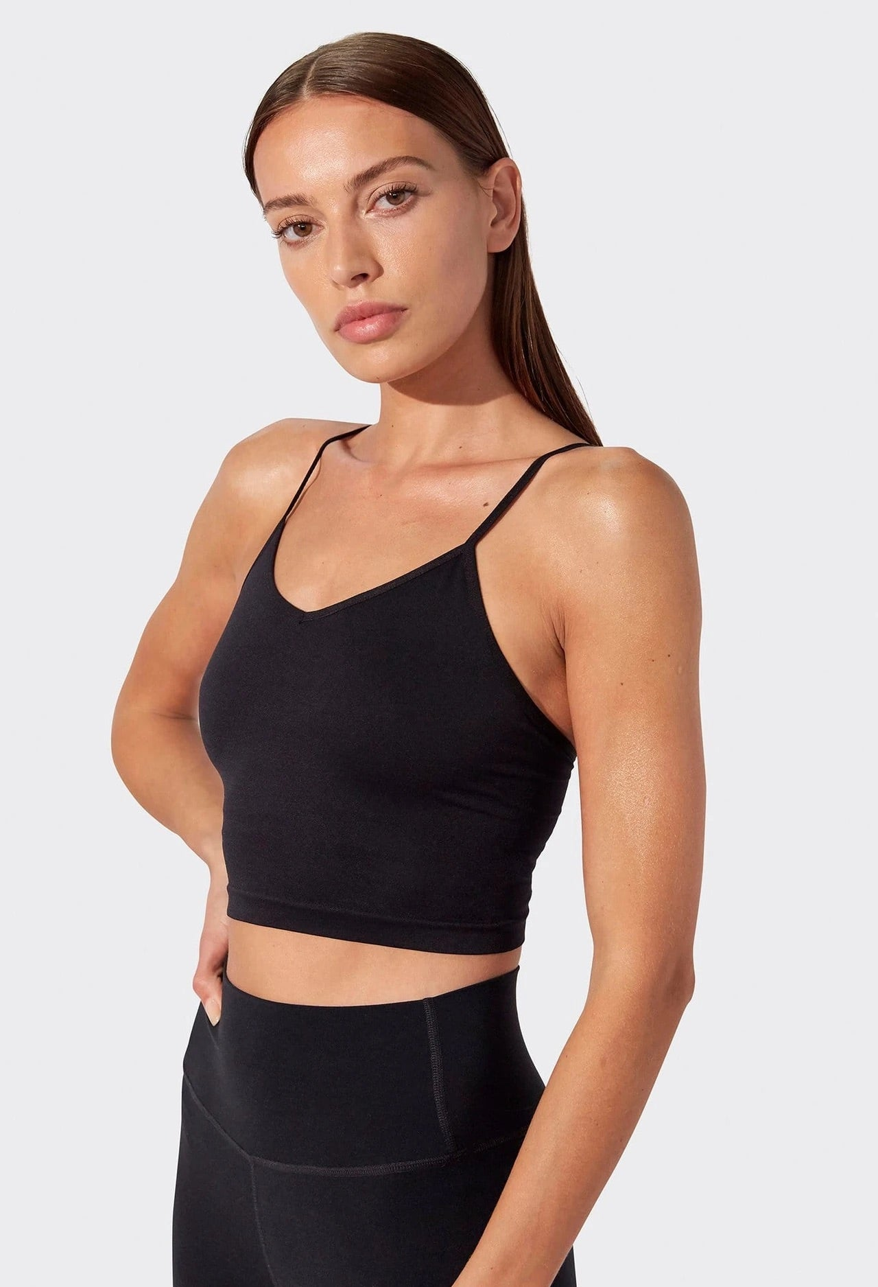 Loren Seamless Cami in Black
