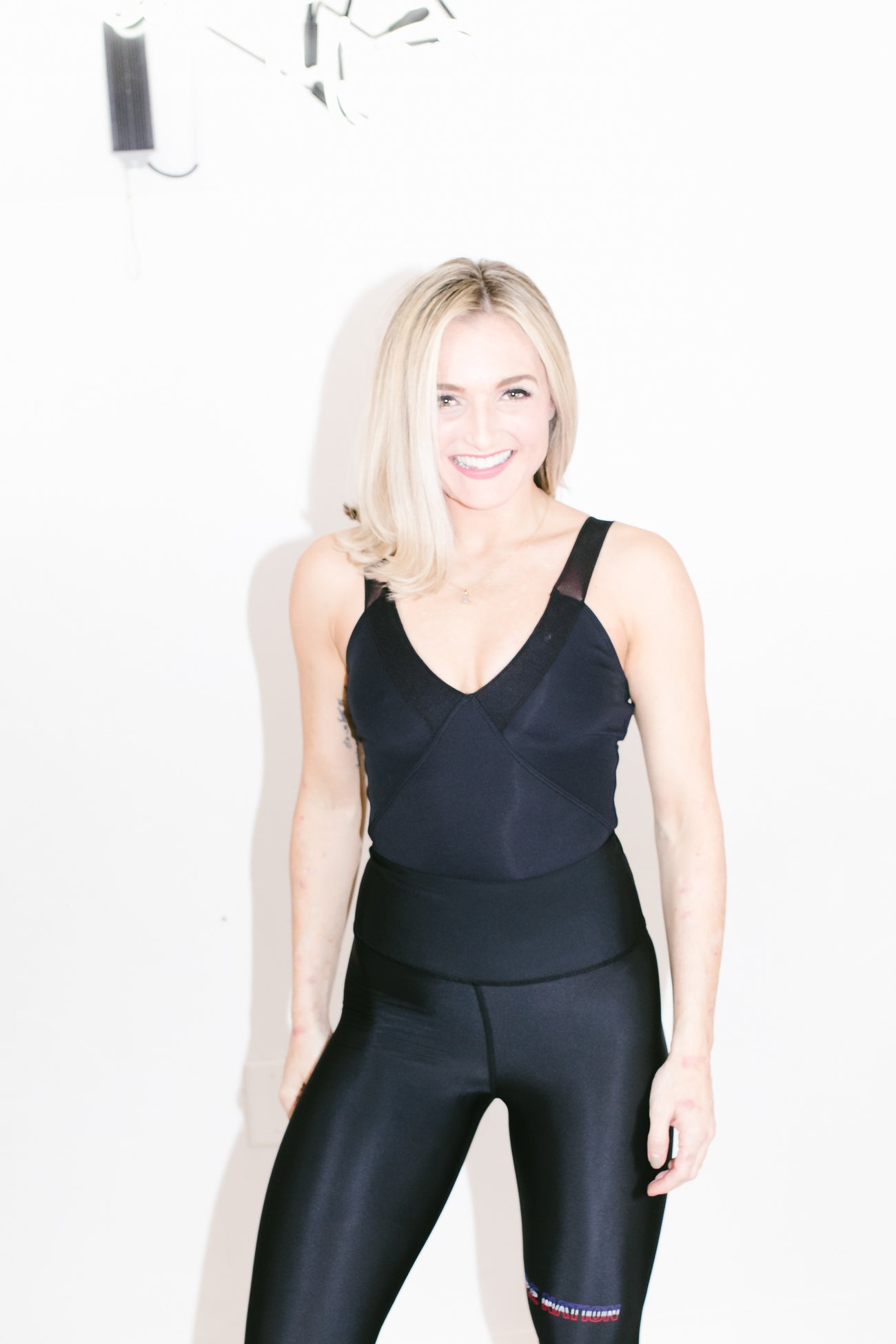 Racing Bodysuit in Black
