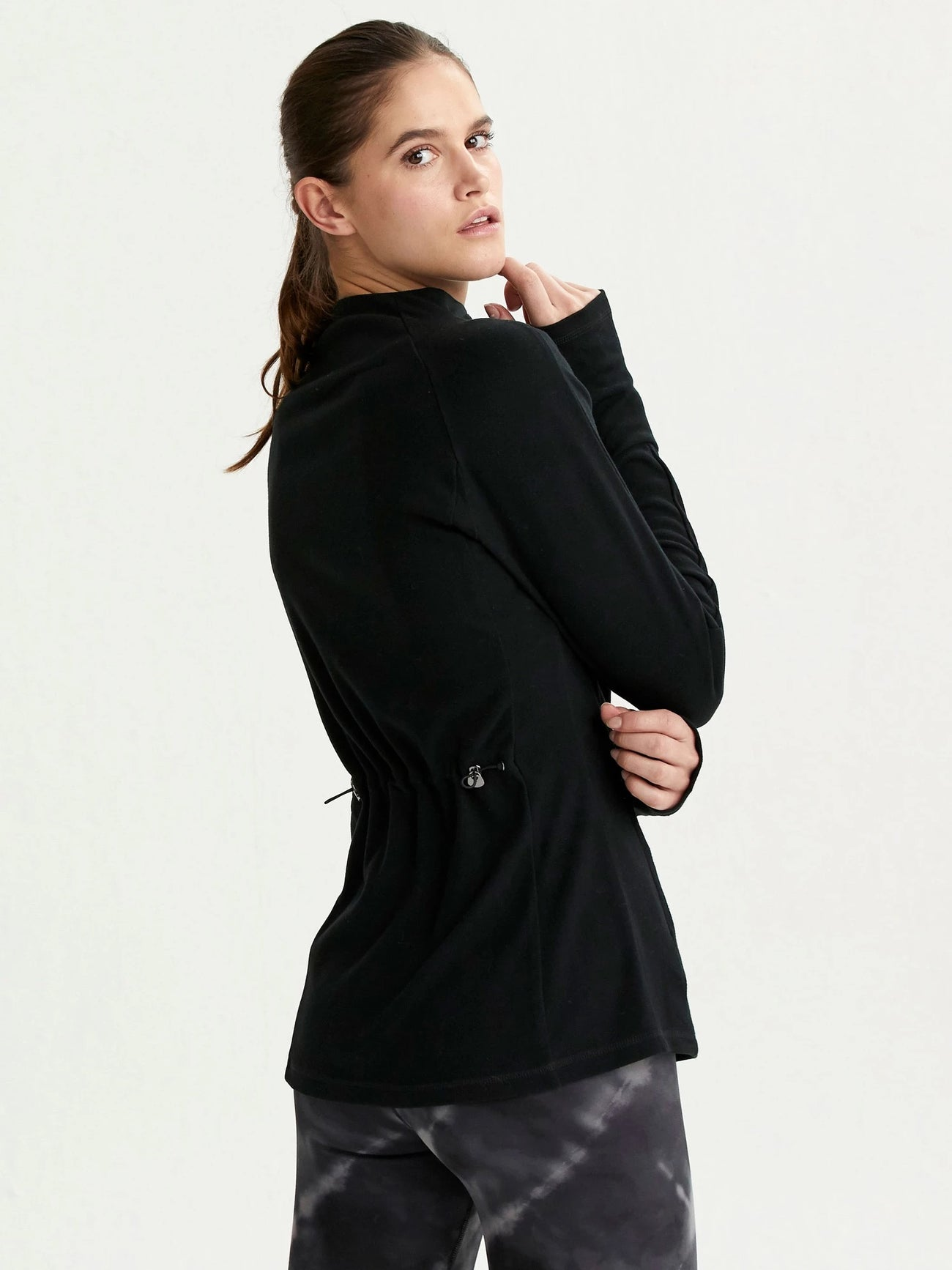 Formosa Half Zip in Black