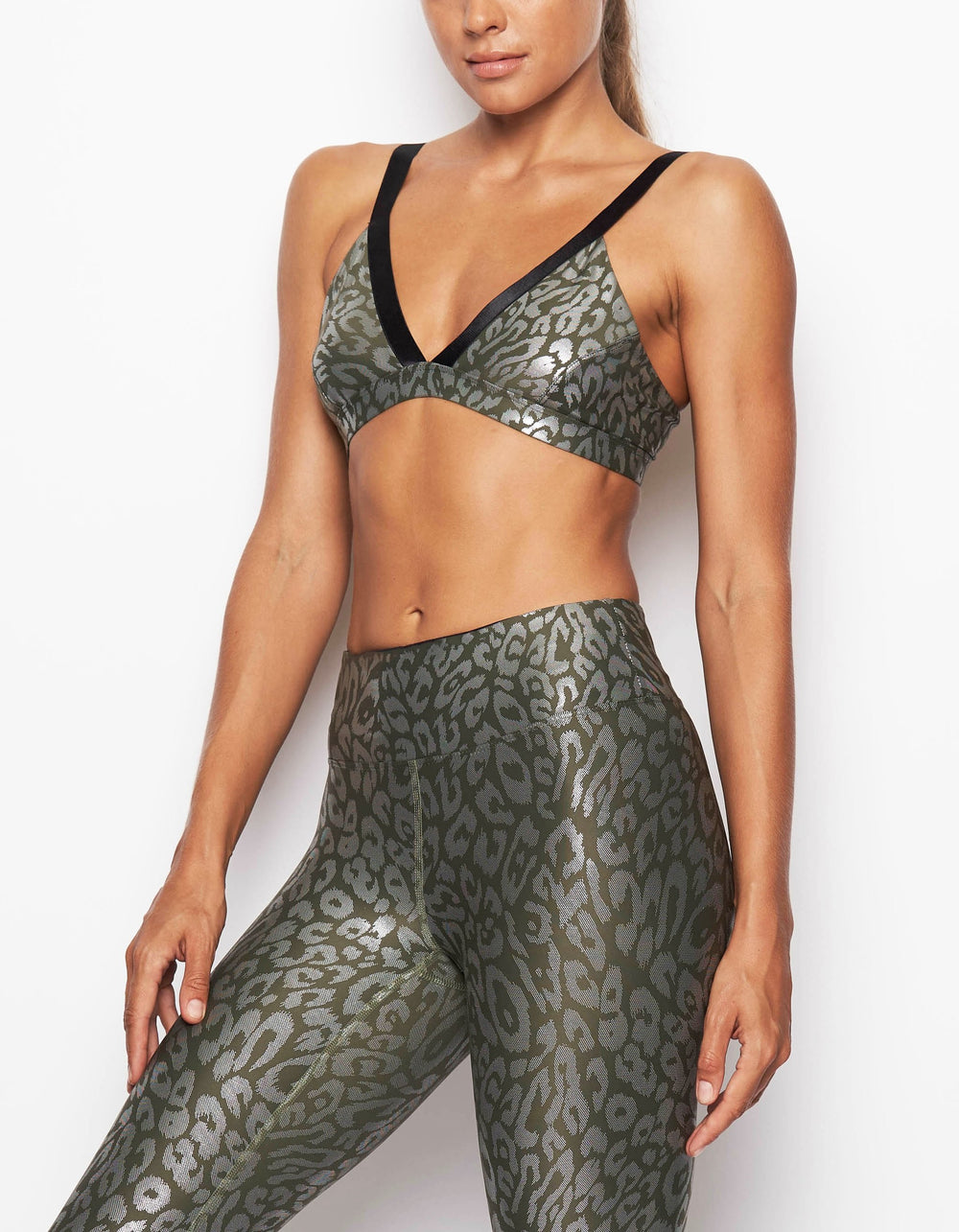 One47 Bra in Army Cheetah