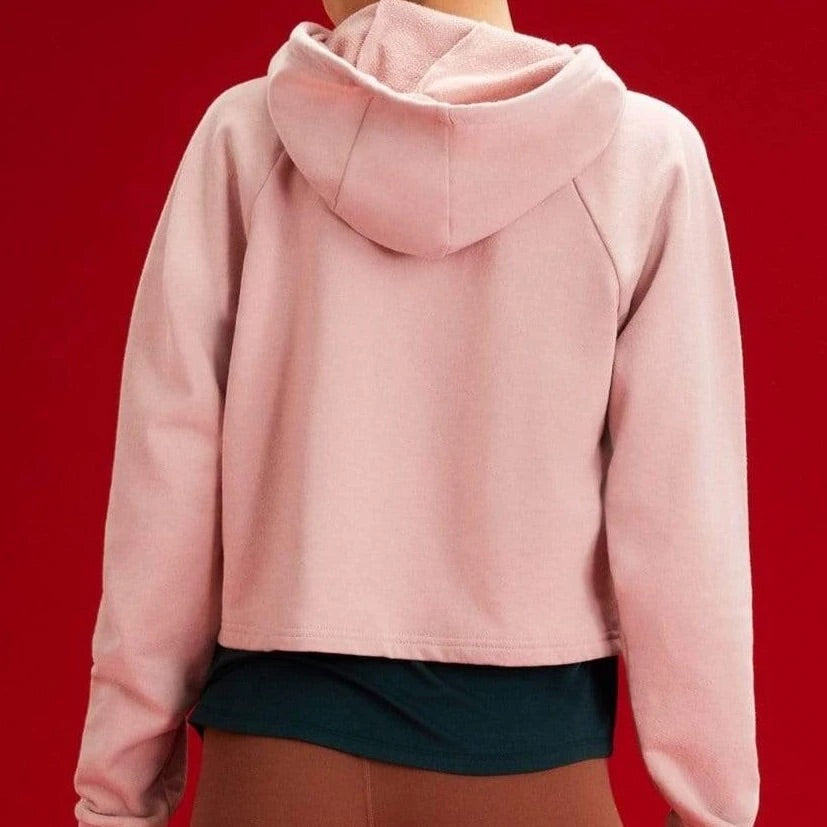 Zoey Hoodie in Blush