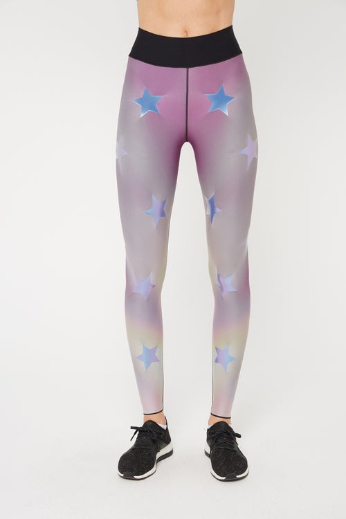 Hypercolor Ultra High Legging in Valerian Holograph