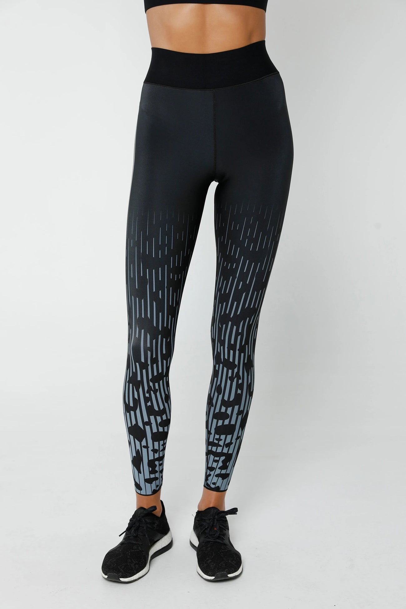Jaguar Ultra High Legging in Sky Patent Nero