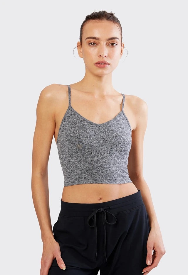Loren Seamless Cami in Heather Grey