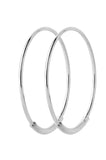 Basic 22 Hoop Earring Silver