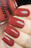CIRQUE COLORS Red Hook Nail Polish