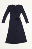 Lisa Says Gah Lucille Midi Dress Navy