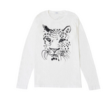 Clare V. Whiskers Longsleeve Tee