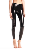 COMMANDO FAUX PATENT LEGGING WITH PERFECT CONTROL
