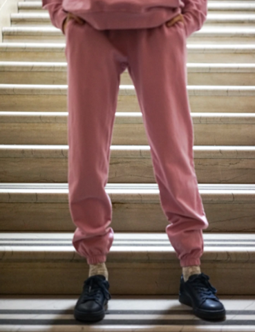 year of ours boyfriend sweatpant desert rose