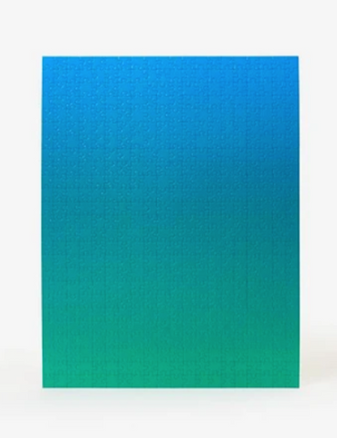 Areaware Gradient Puzzle Blue Green