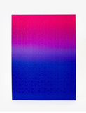 Areaware Gradient Puzzle Pink Blue