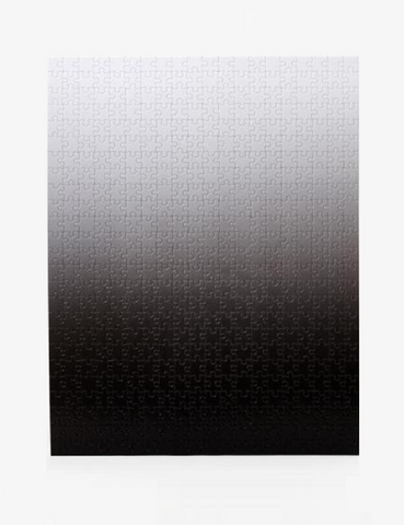 areaware gradient puzzle black white