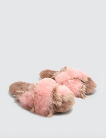 Sophie Slipper - Blush/Pink