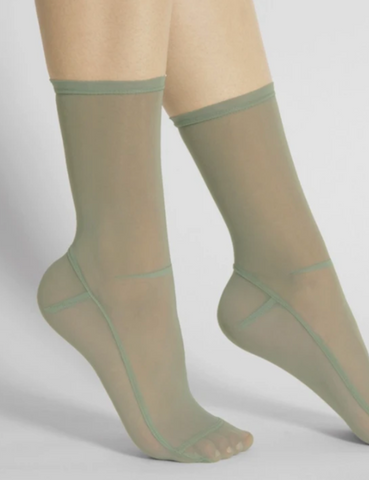 Darner Mint Mesh Socks
