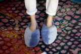 Leni Slipper - Grey/Lilac