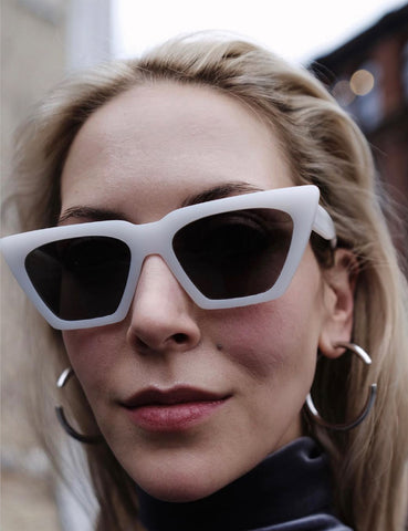 Modan Sunglasses White