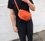 Shearling Waist Bag - Cheeto
