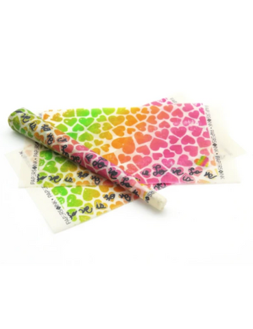 Paper and Ink Organic Rolling Papers Kit Hearts