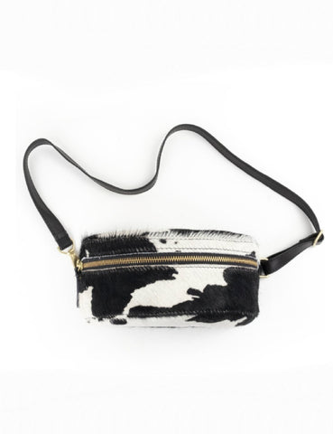 Cowhide Bum Bag - Cow Print
