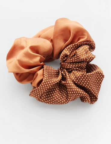 Respiro Valet Studio Orange Cindy Scrunchie