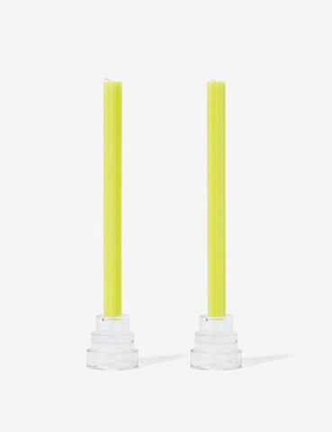 Dusen Dusen Taper Candles Yellow