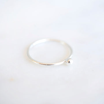 Ball Ring | Sterling Silver