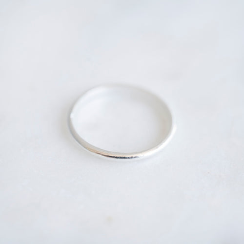 Thin Band Ring | Sterling Silver