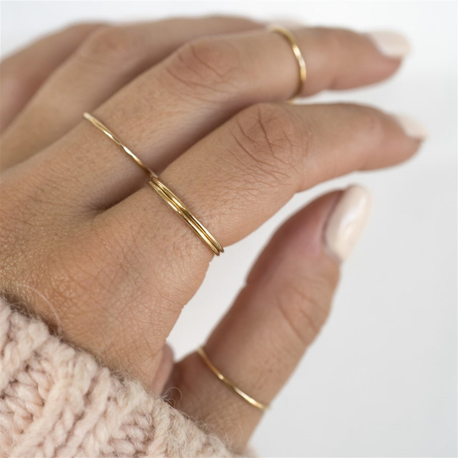 Gold Stackable Ring