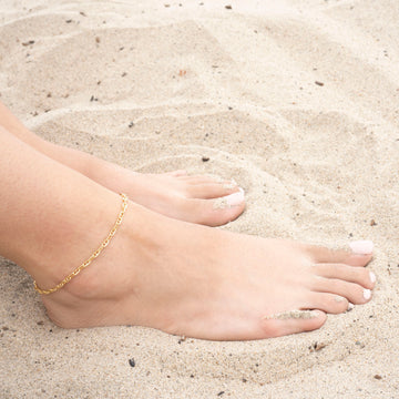 Gold Gucci Chain Anklet