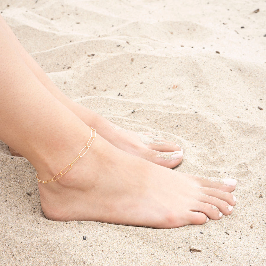 Gold Loops Anklet