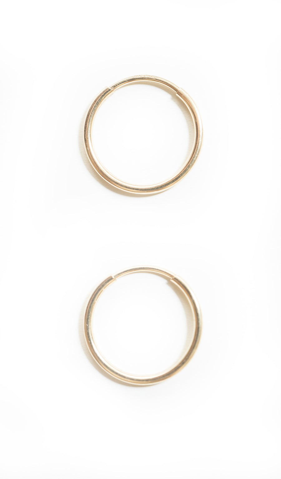 Baby Hoops | Gold Filled