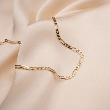 14k Chain and Link Ring
