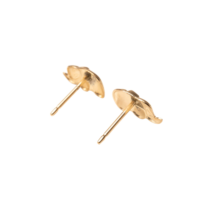 Gold Lucky Elephant Studs