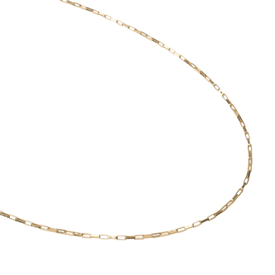 Gold Box Necklace