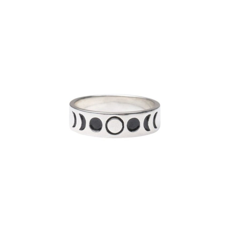 5mm Moon Phases Ring