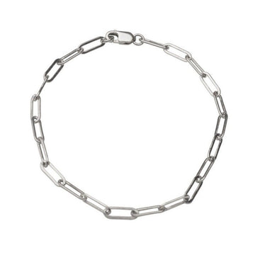 Silver Rectangle Bracelet