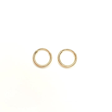 Little Gold Hoops | Gold Filled