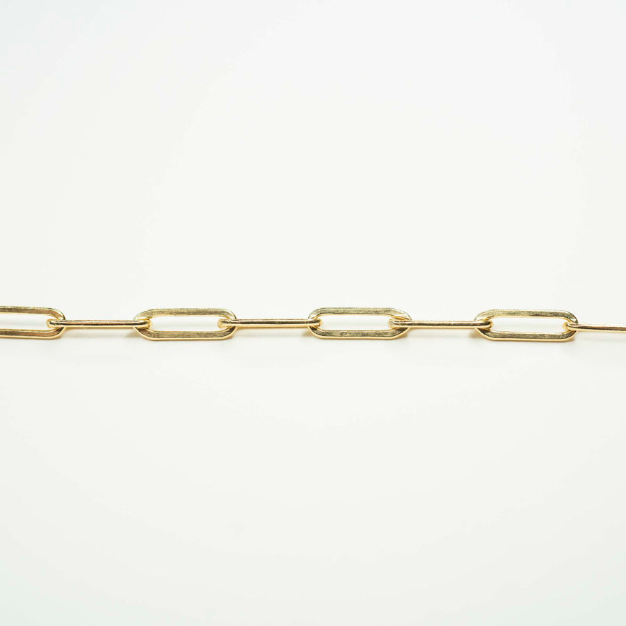 Gold Rectangle XL Necklace