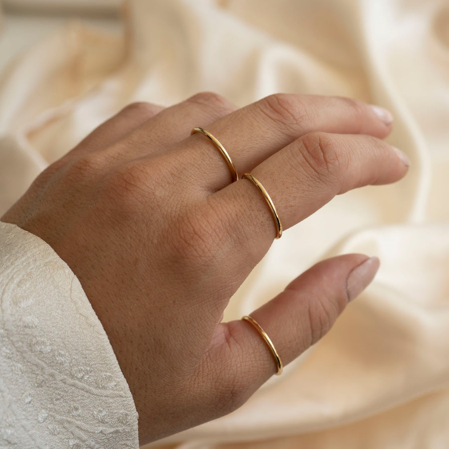 Bold Stackable Ring | 1.5mm