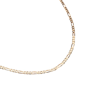 14k Gold Figaro Necklace