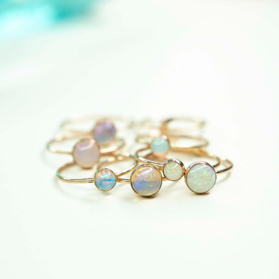 Gold Opal Ring, Gold filled Opal Ring, Natural Opal Ring, Opal Ring, 14k Gold Opal Ring, Handmade Opal Ring, Dainty Opal Ring