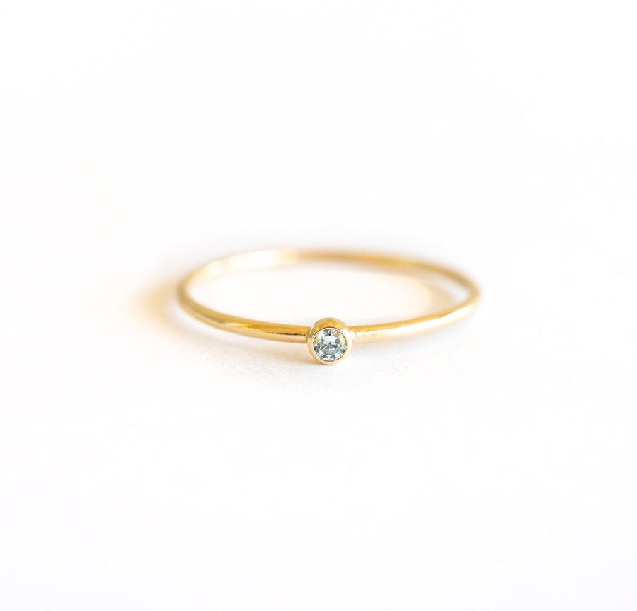 Gold Filled Stackers, Gold Filled Rings | Gold Filled Stackable Ring, Gold Gemstone Ring, Gemstone Ring, Birthstone Ring, Cute Gold Ring