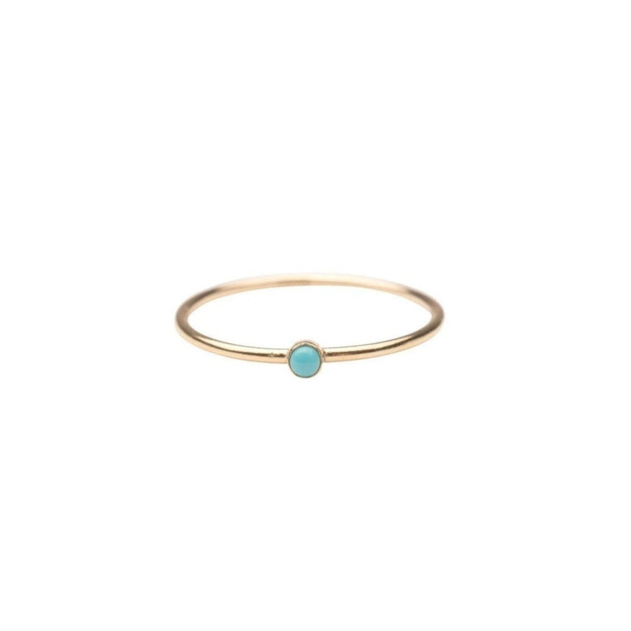 Gold Filled Turquoise Stacker