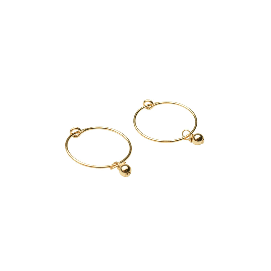 Dainty Beaded Hoop Earrings, Gold Filled Hoops, Gold Hoop Earrings, Gold Hoops, Dainty Hoops, Earring Hoops, 14k Gold Hoops, Simple Hoops