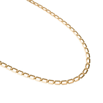 Gold Retro Necklace, 14k Gold Necklace, Simple Gold Necklace, Chain Necklace, Stacking Necklace, Layering, Gift for Her, Holiday, Gift