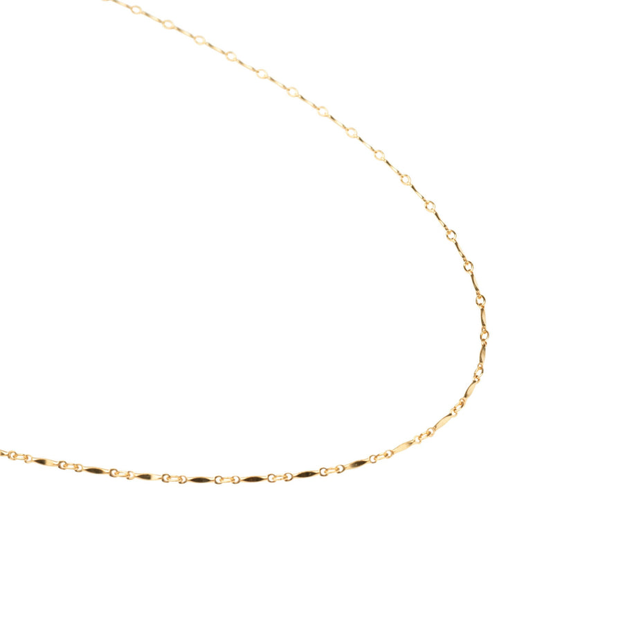 Gold Thin Curb Link Necklace, 14k Gold Necklace, Simple Gold Necklace, Chain Necklace, Layering Necklace, Stacking, Gift for Her, Holiday