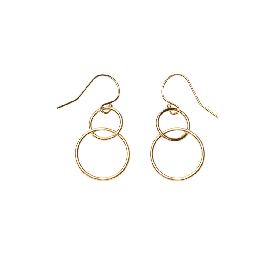 Gold Loops Earrings, Gold Filled Hoops, Gold Hoop Earrings, Gold Hoops, Dainty Hoops, Earring Hoops, 14k Gold Hoops, Simple, Holiday, Gift