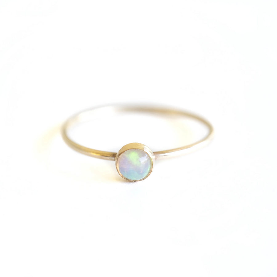 Little Gold Opal Ring