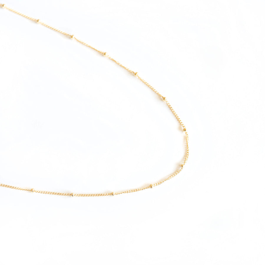 Gold Satellite Necklace